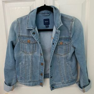 Gap Soft denim jacket size 16 girls